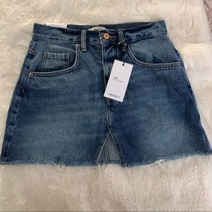 Forever 21 denim short skirt